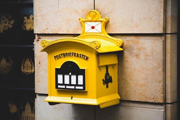 Plaque de boite aux lettres gravées