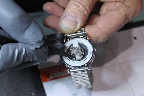 Entretien de montre